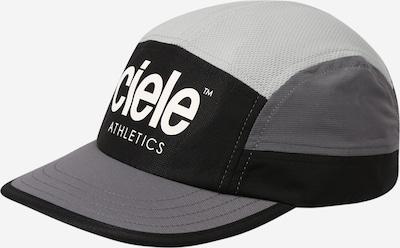 CIELE ATHLETICS Sportcap in rauchgrau / hellgrau / schwarz / weiß, Produktansicht