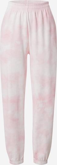 Gina Tricot Pantalon 'Jackie' en rose / blanc, Vue avec produit