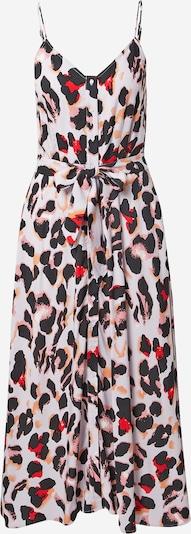 Y.A.S Kleid in braun / rosa / grenadine / schwarz / weiß, Produktansicht