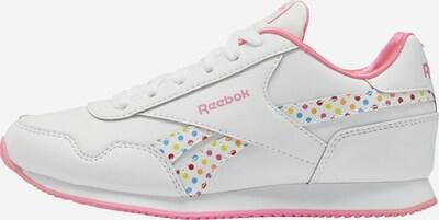 REEBOK Sportschuh in mischfarben / weiß, Produktansicht