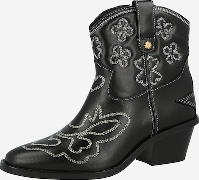 Fabienne Chapot Cowboy Boots 'Jolly' in Cream / Black, Item view