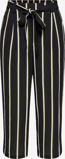 Pantaloni con pieghe 'Winner' ONLY di colore giallo / nero / bianco, Visualizzazione prodotti