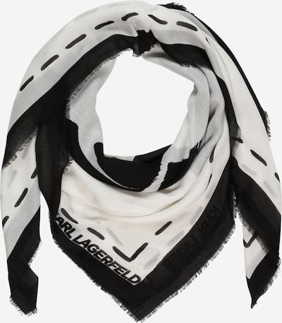 Karl Lagerfeld Látková rouška - černá / bílá, Produkt