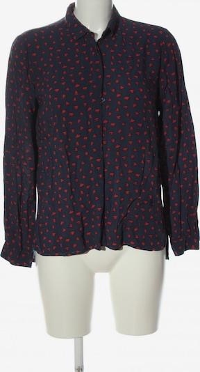Emily Hemd-Bluse in S in blau / rot, Produktansicht