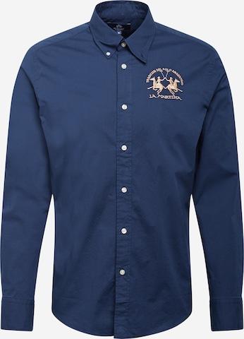 Camicia di La Martina in blu