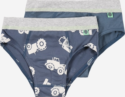 SANETTA Underpants in blue / turquoise / light grey / white, Item view