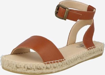 espadrij l´originale Sandale 'Nimes' in cognac, Produktansicht