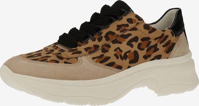 ARA Sneaker in camel / schwarz, Produktansicht