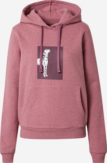 NU-IN Sweatshirt in Purple / Pink / White, Item view