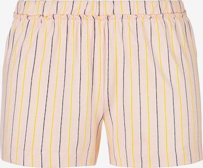 s.Oliver Pyjamashorts in nachtblau / gelb / rosa / weiß, Produktansicht
