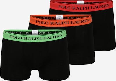 POLO RALPH LAUREN Boxers 'CLASSIC' en vert / orange / rouge / noir, Vue avec produit