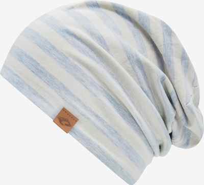 chillouts Beanie in blau / weiß, Produktansicht