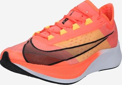NIKE Sporta apavi 'ZOOM FLY 3' koraļļu / melns / balts, Preces skats
