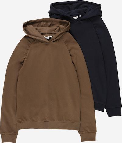 NAME IT Sweat-shirt 'VENUS' en saphir / kaki, Vue avec produit