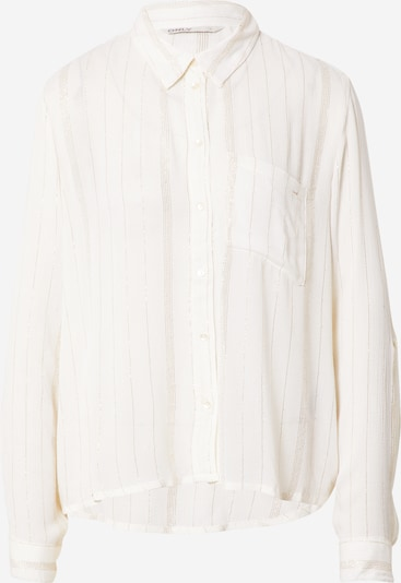 ONLY Blouse 'VIOLA' in de kleur Goud / Offwhite, Productweergave