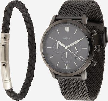 Orologio analogico di FOSSIL in nero