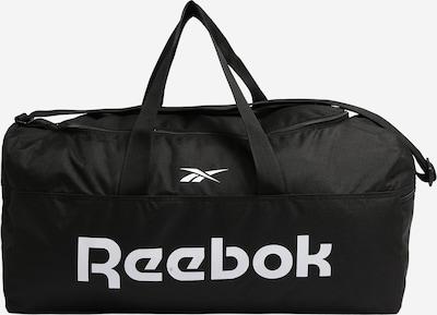 REEBOK Sportväska i svart / vit, Produktvy