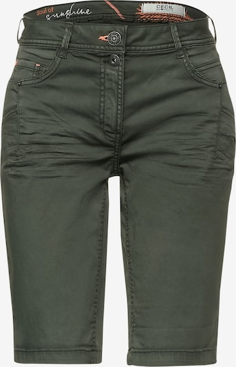 CECIL Pants 'New York' in Dark green, Item view