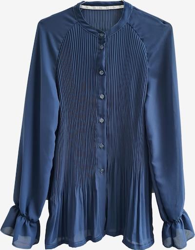 Heimatliebe Bluse in dunkelblau, Produktansicht
