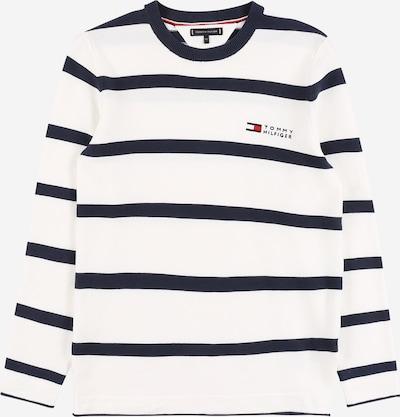 TOMMY HILFIGER Pullover in navy / hellrot / weiß, Produktansicht