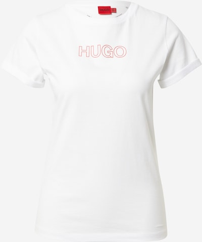 HUGO Shirt in Melon / Off white, Item view