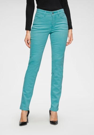 MAC Jeans »Melanie Bees« in türkis, Modelansicht