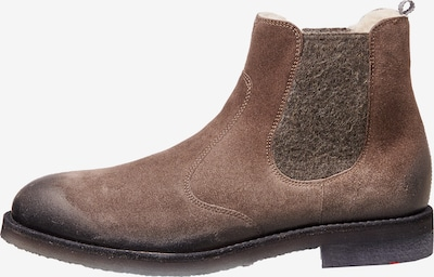 LLOYD Schuhe mit Wollfutter in braun, Produktansicht