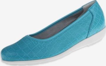 Natural Feet Ballet Flats 'Catharina' in Blue