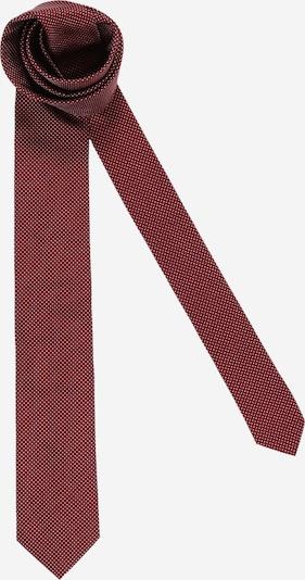 HUGO Kravata - vínovo červená / biela, Produkt