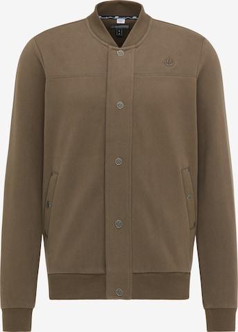 DreiMaster Vintage Sweatjacka i brun