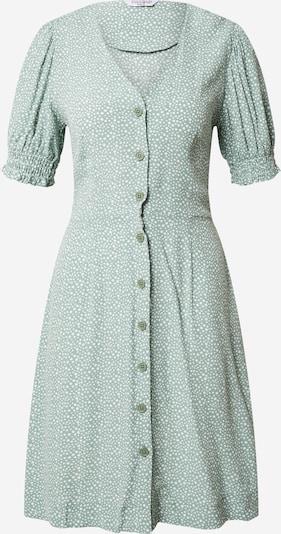 ZABAIONE Kleid 'Monroe' in mint / weiß, Produktansicht