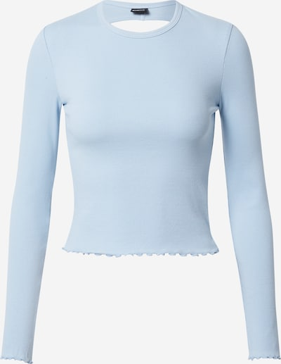 Marškinėliai 'Belinda' iš Gina Tricot, spalva – šviesiai mėlyna, Prekių apžvalga