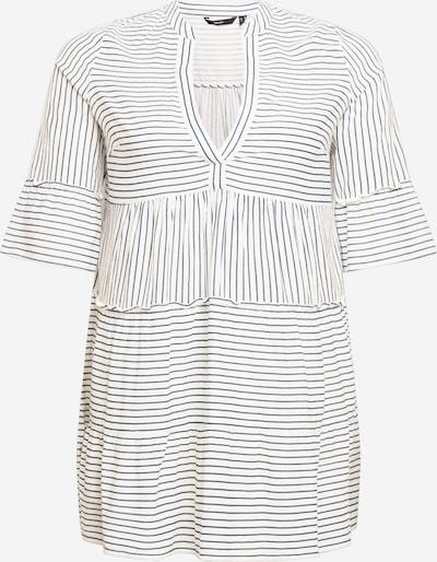 Vero Moda Curve Haljina 'Heli' u antracit siva / bijela, Pregled proizvoda