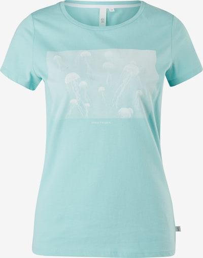 Q/S designed by T-Shirt in aqua / weiß, Produktansicht