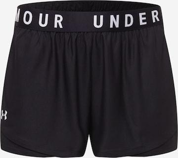 Pantalon de sport 'Play Up 3.0' UNDER ARMOUR en noir