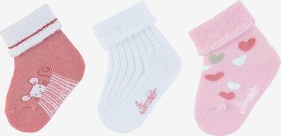 STERNTALER Erstlingssöckchen in rosa / altrosa / weiß, Produktansicht