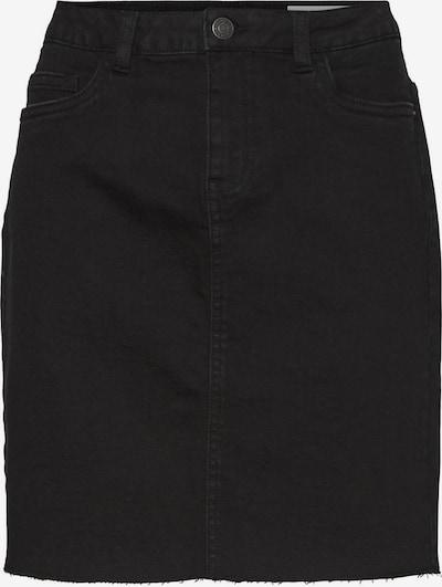 Noisy may Rok 'CALLIE' in de kleur Black denim, Productweergave