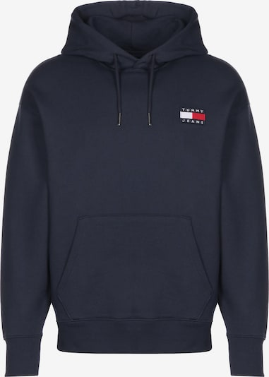 Tommy Jeans Hoodie ' Badge ' in navy, Produktansicht