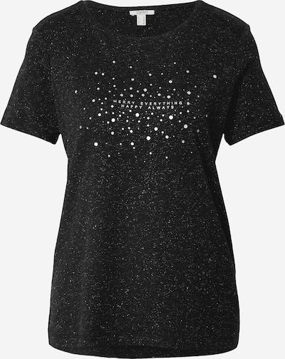 ESPRIT Tričko - čierna / strieborná / biela, Produkt