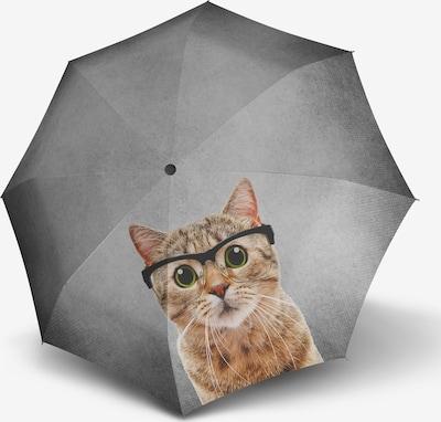 Doppler Regenschirm in grau / mischfarben, Produktansicht
