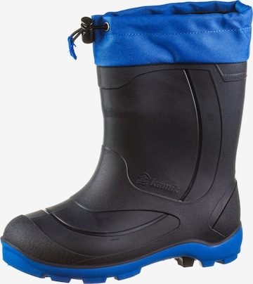 Kamik Rubber Boots 'Snobuster 1' in Black