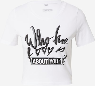 ABOUT YOU Limited Shirt 'Mira' in weiß, Produktansicht