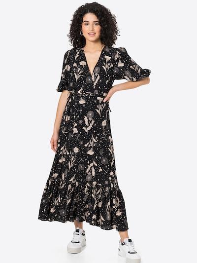 Rochie Mavi pe culori mixte / negru, Vizualizare model