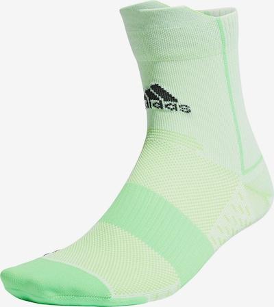 ADIDAS PERFORMANCE Athletic Socks in Green / Black, Item view