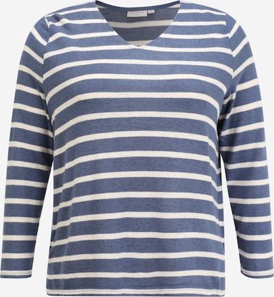 ONLY Carmakoma Тениска в синьо / бяло, Преглед на продукта