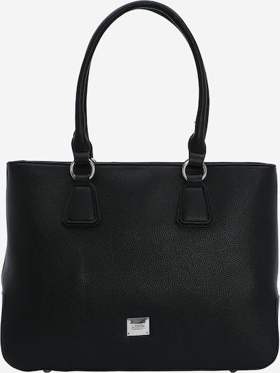 L.CREDI Shoppingväska 'HEIDRUN' i svart, Produktvy