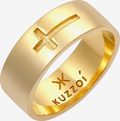KUZZOI Bague en or, Vue avec produit