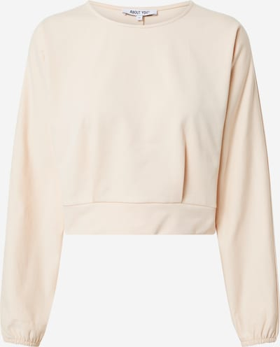 ABOUT YOU Sweat-shirt 'Linda' en nude, Vue avec produit
