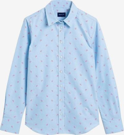 GANT Bluse in blau / pink, Produktansicht