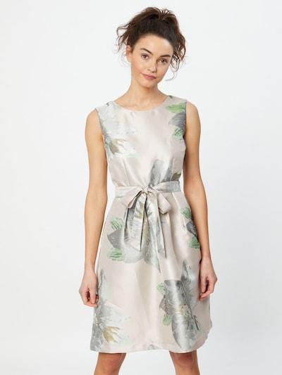 APART Jacquard-Kleid mit Blumenmuster in mauve / mischfarben, Modelansicht